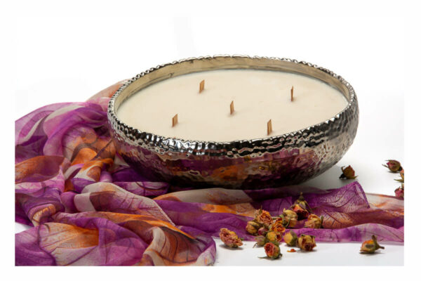 5 wick large bowl candle